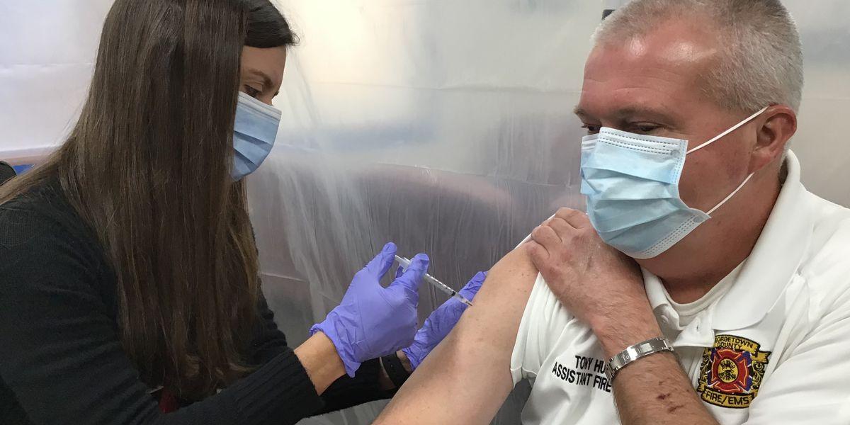 Grand Strand first responders begin receiving COVID-19 vaccine