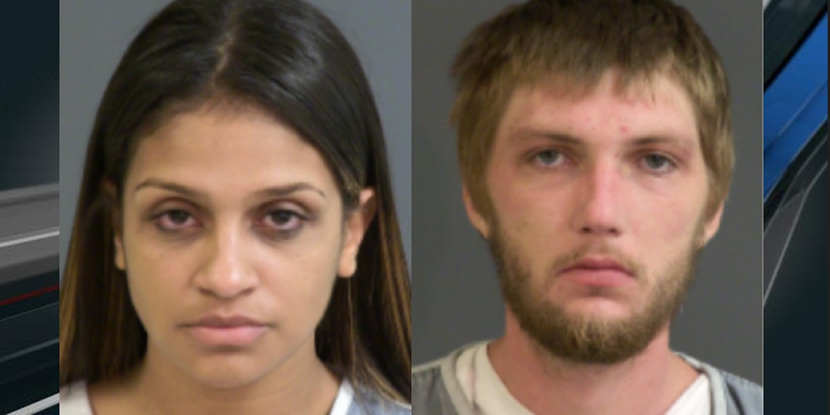 Two arrested after car stolen, infant taken out and left on ground