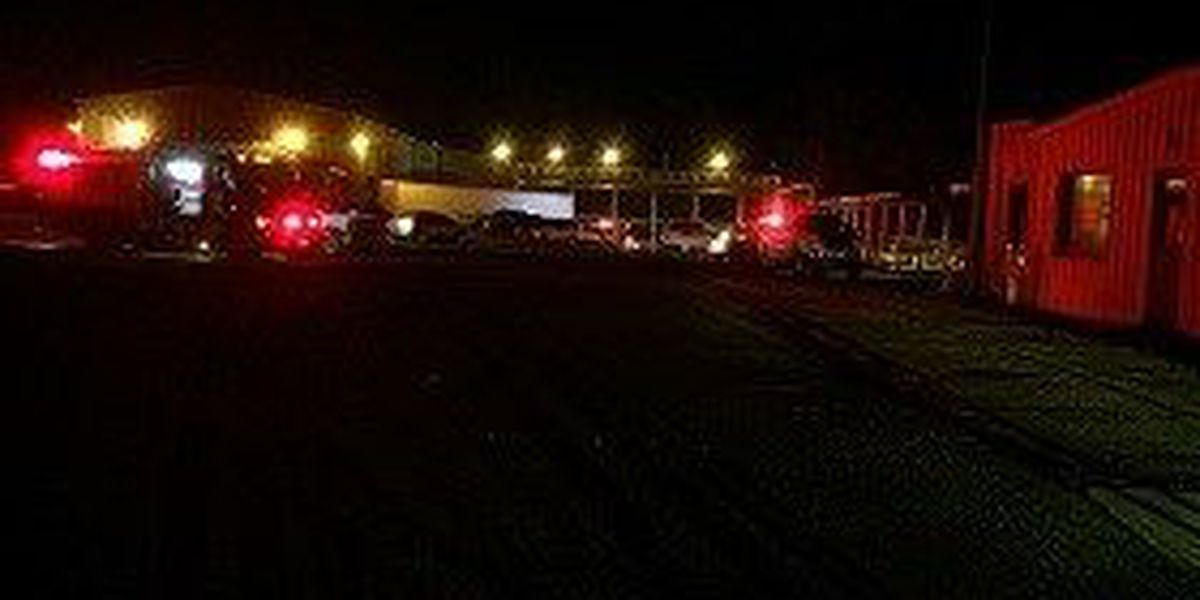 Johnsonville plant catches fire: crews are on the scene