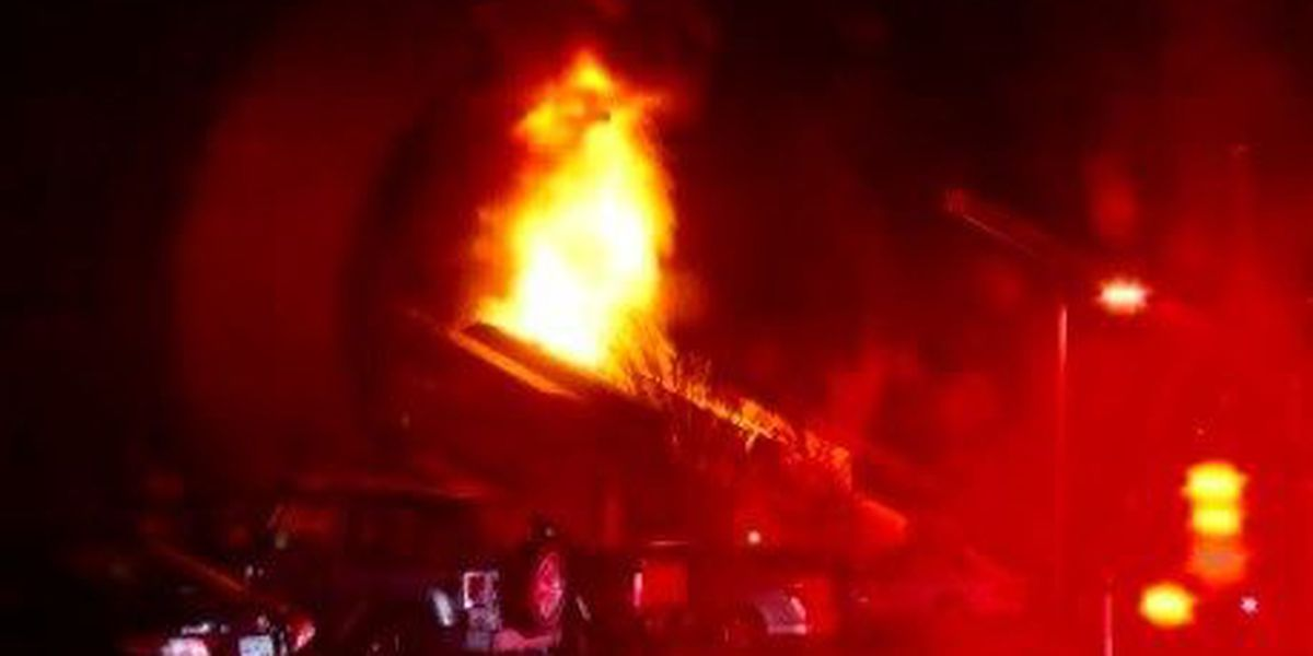 Two people injured in Myrtle Beach condo fire