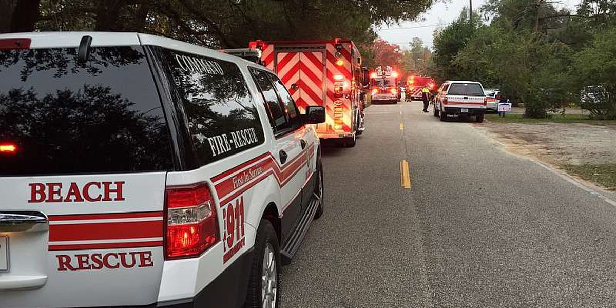 Fire sparked in bathroom of home on Hawthorne Lane