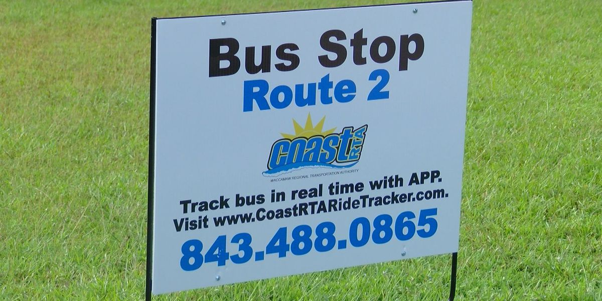 Coast RTA needs your help finding missing bus route signs