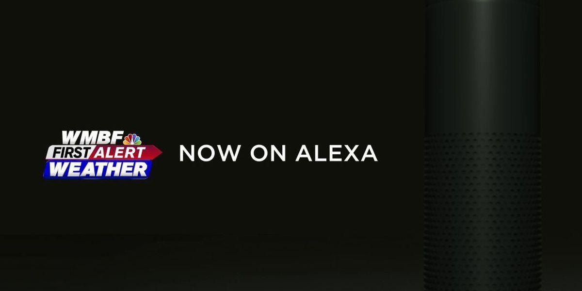 Hear the latest from WMBF News on Amazon's Alexa!