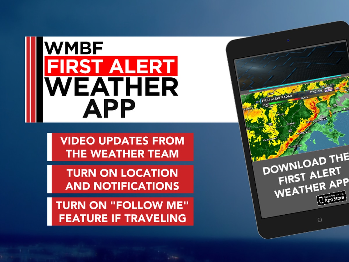 Download the free First Alert Weather App