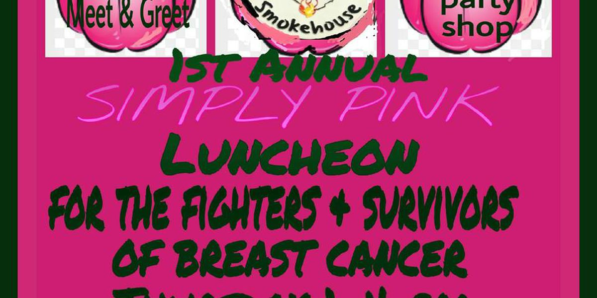 Free luncheon for breast cancer fighters and survivors on October 29