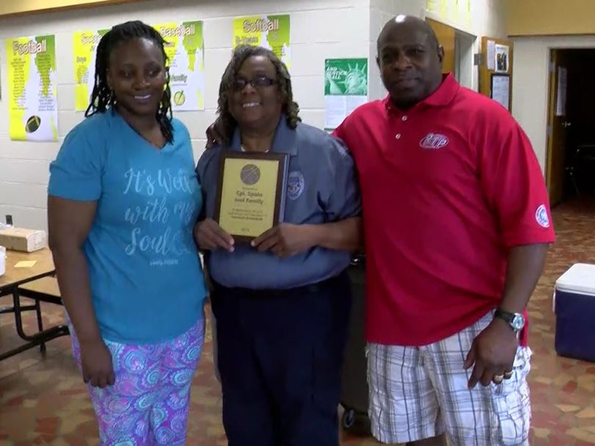 Conway Police Sergeant honored by community basketball league