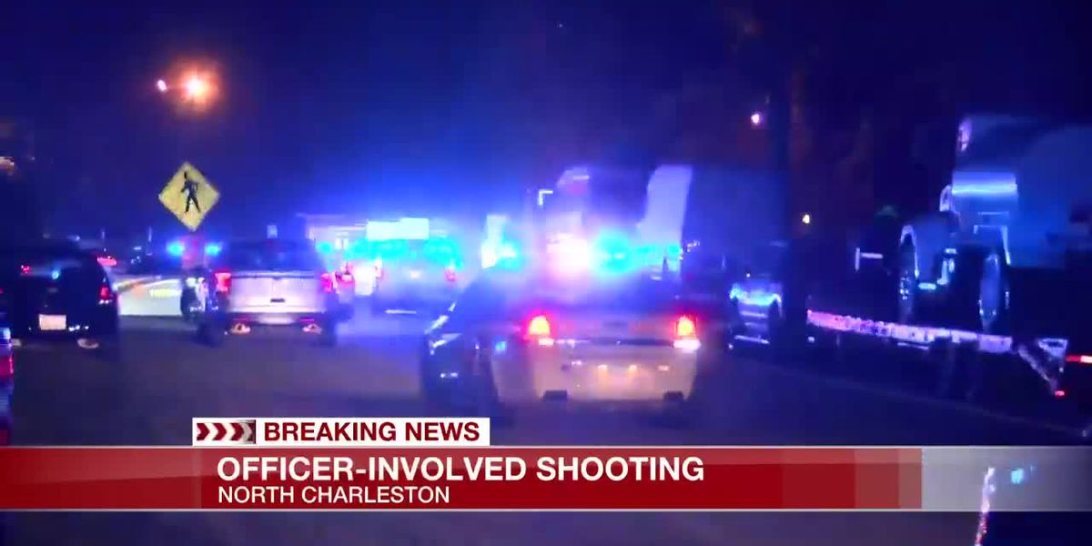 VIDEO: Authorities investigate officer-involved shooting at I-26 rest area