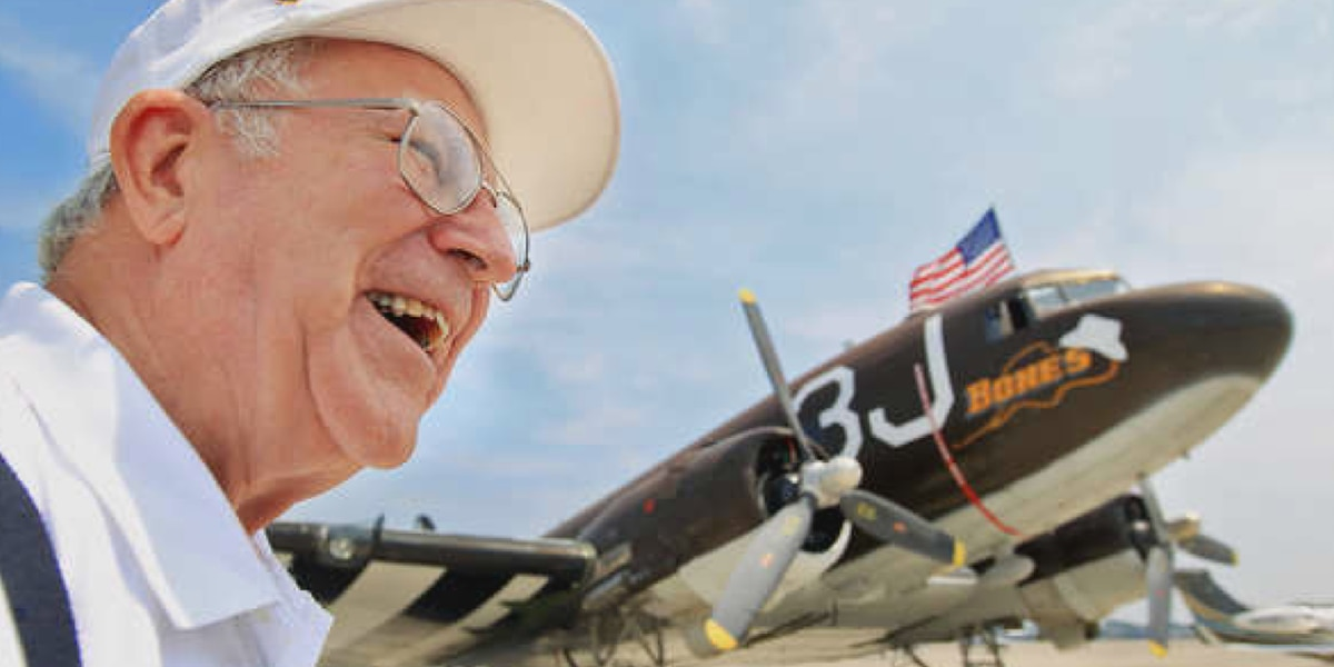 SC Air Force veteran celebrates 100th birthday with look back over his 70-year career