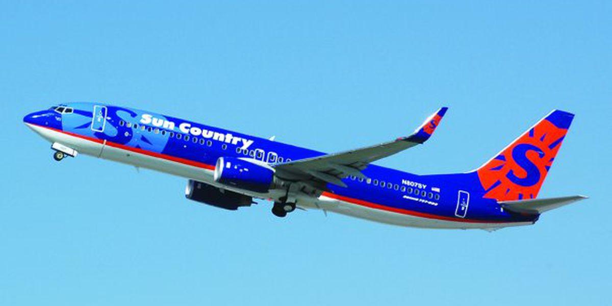 Sun Country Airlines extending seasonal flights between MYR, Twin Cities
