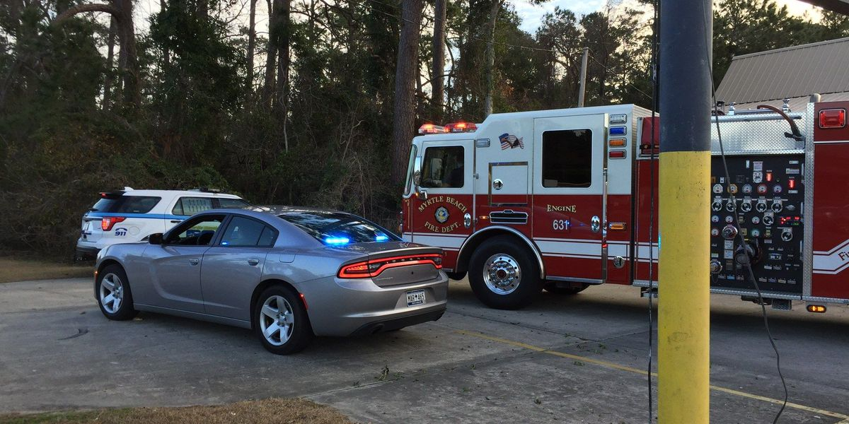 Accident with injuries reported near Myrtle Beach State Park