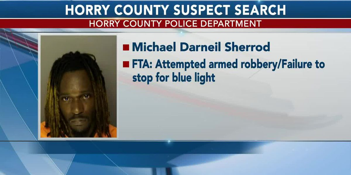 March 5 Horry County Suspect Search