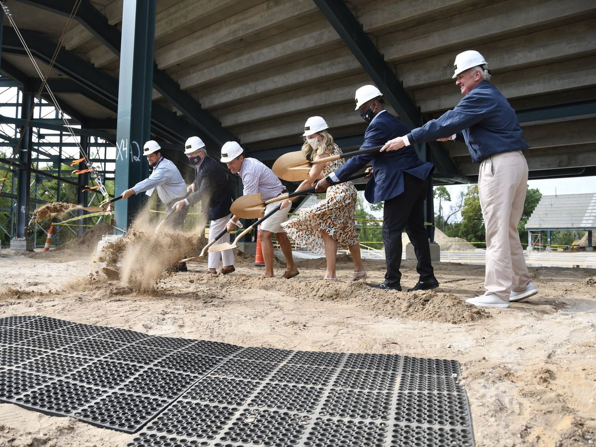 McMaster joins groundbreaking ceremony at new tennis stadium