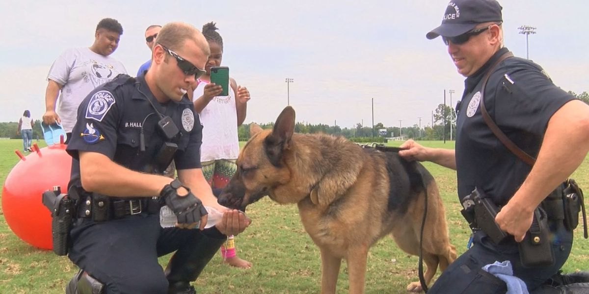 Grand Strand law enforcement hosts cookout to interact with youth