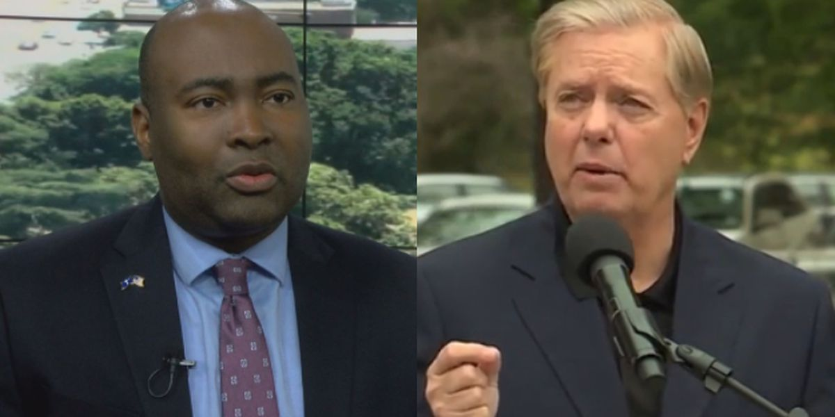Sen. Graham, challenger Harrison to debate three times in October