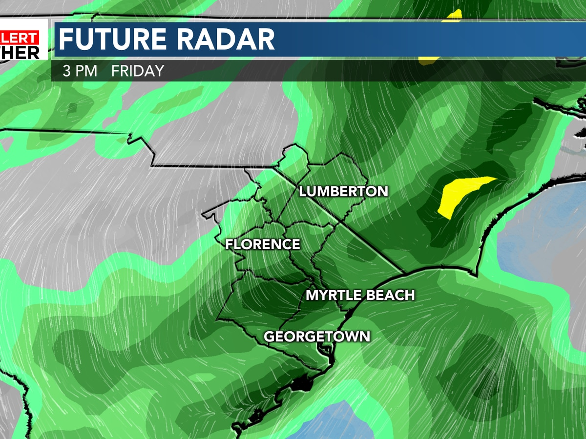FIRST ALERT: Friday showers ahead of a beautiful fall weekend