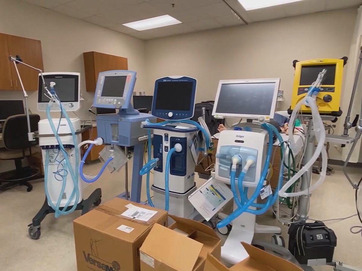 Number of S.C. COVID-19 patients on ventilators up 35 percent since last week