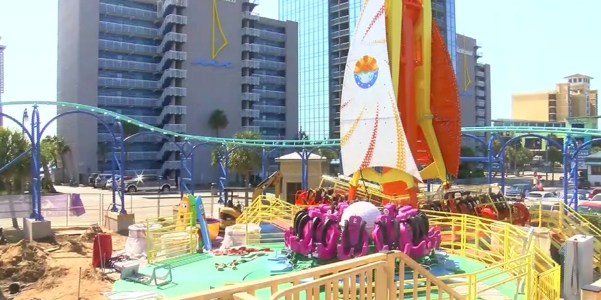 New Myrtle Beach amusement park hiring, preparing for spring opening