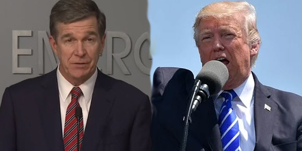 N.C. Gov. Cooper responds to Trump RNC tweet: Pandemic response can not be political