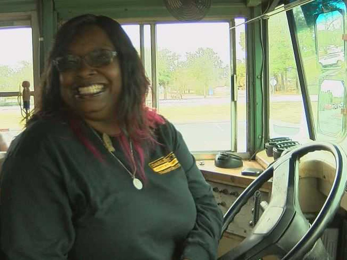 SC school district recognizes 'hero' bus driver who saved 40 students after fiery crash