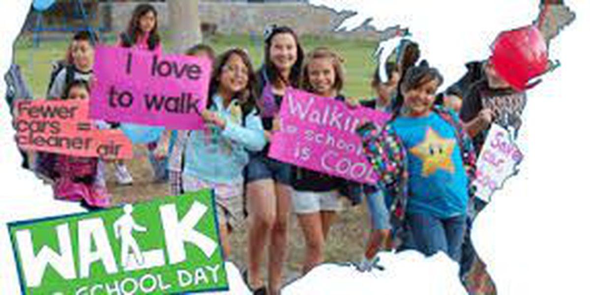 SC schools to participate in International Walk to School day