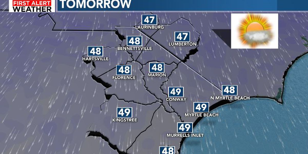 FIRST ALERT: Chilly Friday, more rain to finish the weekend