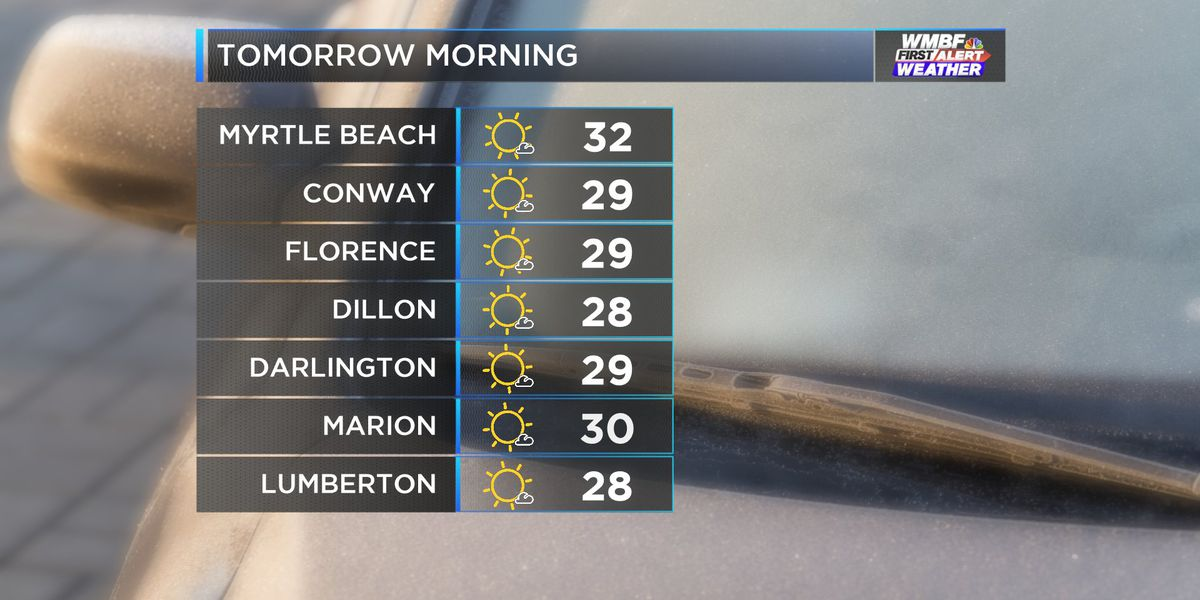 FIRST ALERT: Frosty start to Thursday, eyes on weekend storm