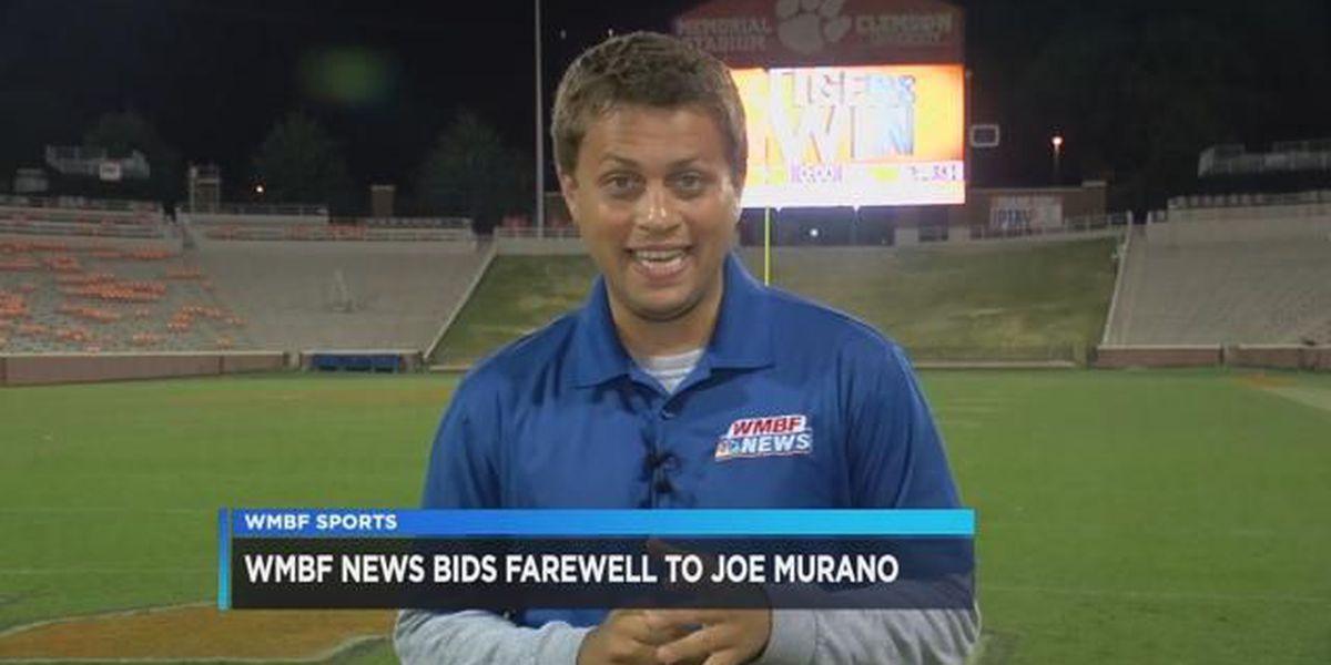 Farewell to WMBF Sports Director Joe Murano