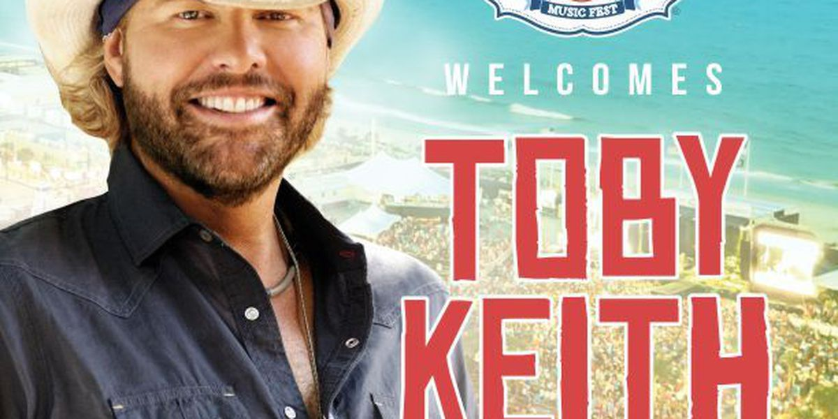 Toby Keith to play at the 2018 Carolina Country Music Fest