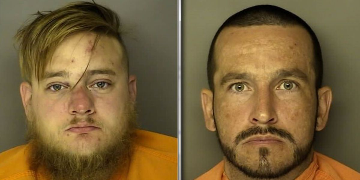 Two men are wanted for crimes in Horry County