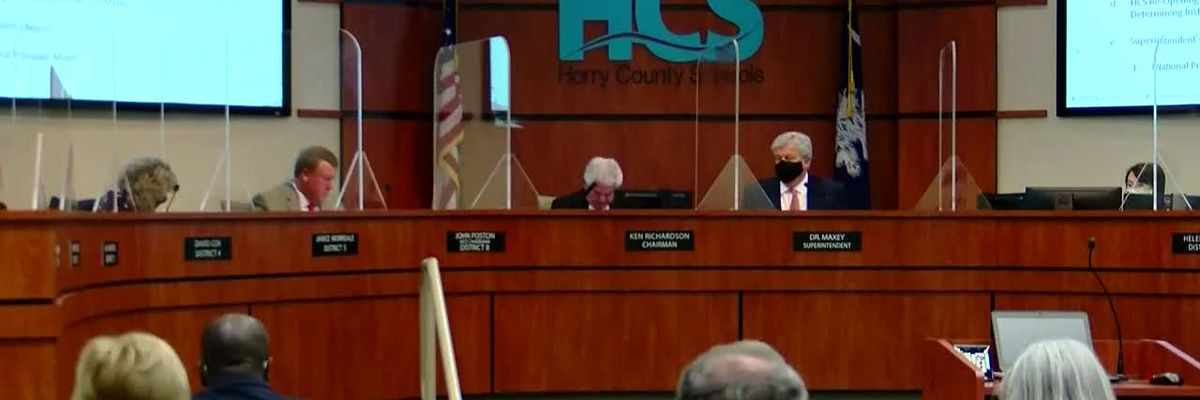 HCS board members vote in favor of sticking with hybrid model until further notice
