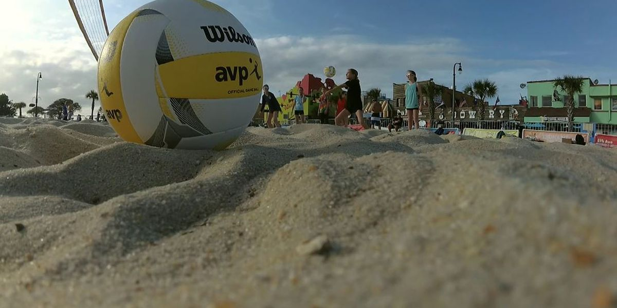 Beach volleyball shows spike in popularity