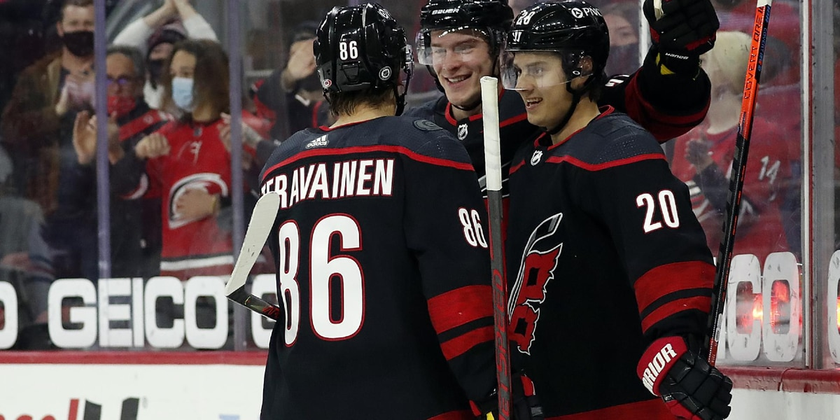 Carolina Hurricanes clinch NHL Central Division title