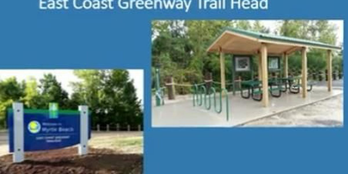 Work to install mountain bike trails, trail-head at MB city entrance underway