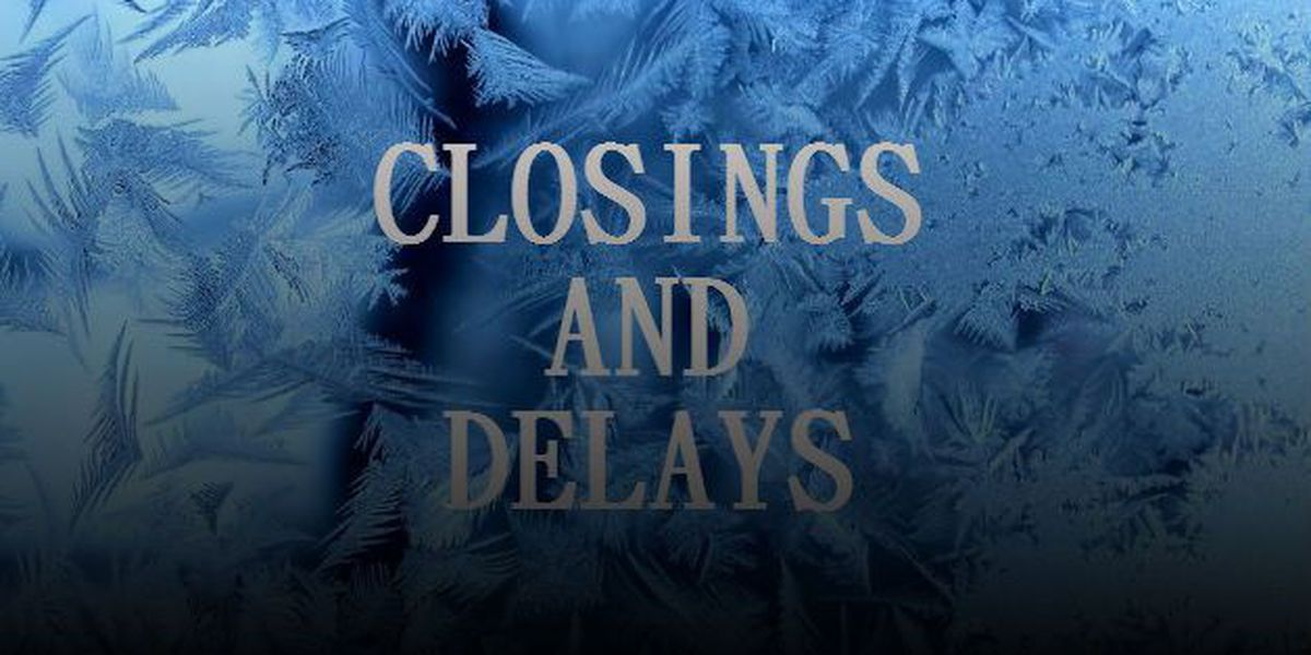 School officials announce delays Friday due to winter weather