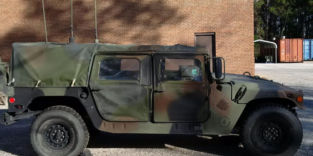 Law enforcement: Humvee stolen from National Guard armory in Georgetown