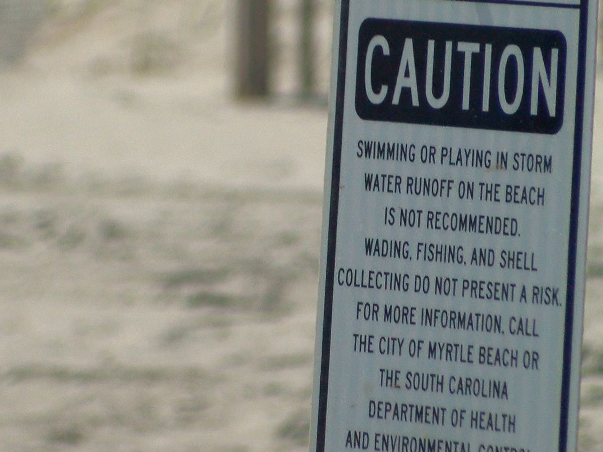 DHEC gets ready to conduct weekly ocean water sampling in Myrtle Beach area