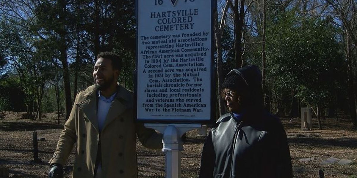 City of Hartsville honors once forgotten African American cemetery