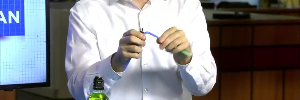 Science with Sean: Making Your Own Faucet with a Straw