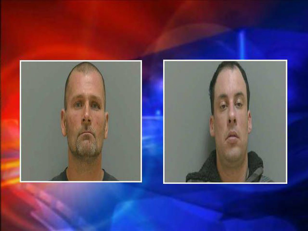 Two arrested in police chase after convenience store burglary