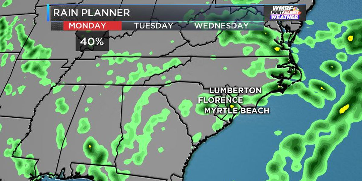 FIRST ALERT: Hit and miss summer storms through the week