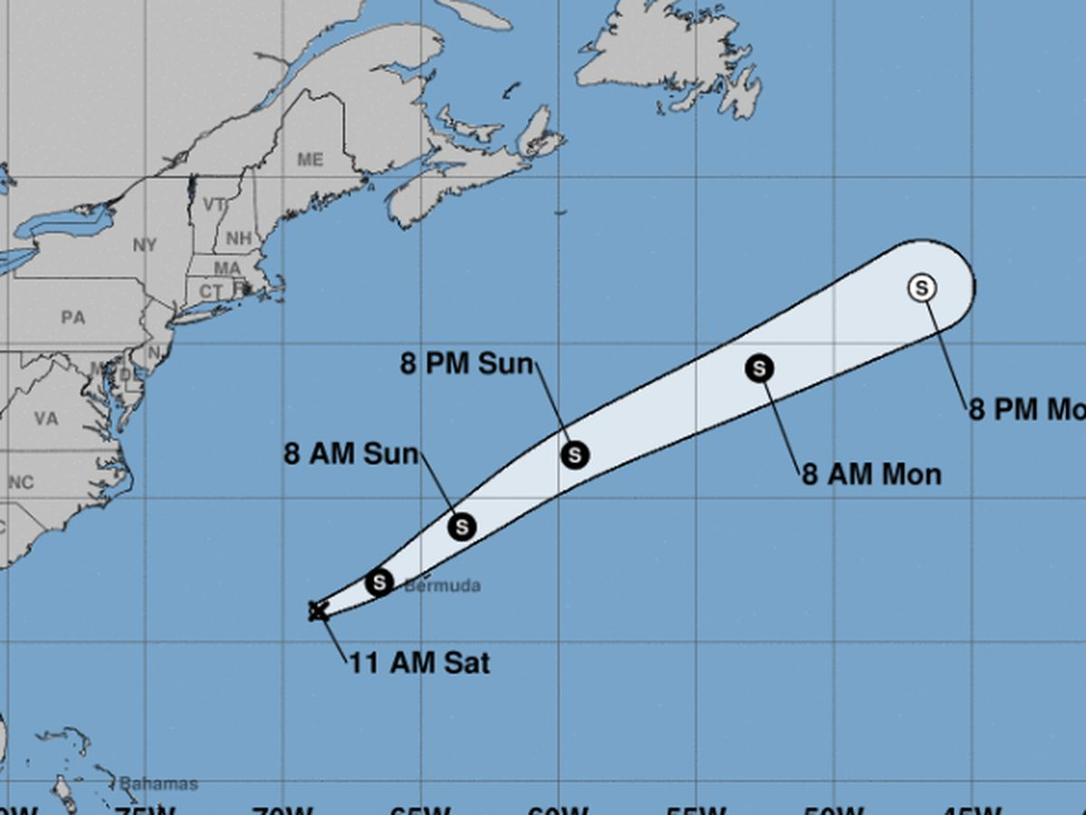 FIRST ALERT: Tropical Depression Five forms over Atlantic