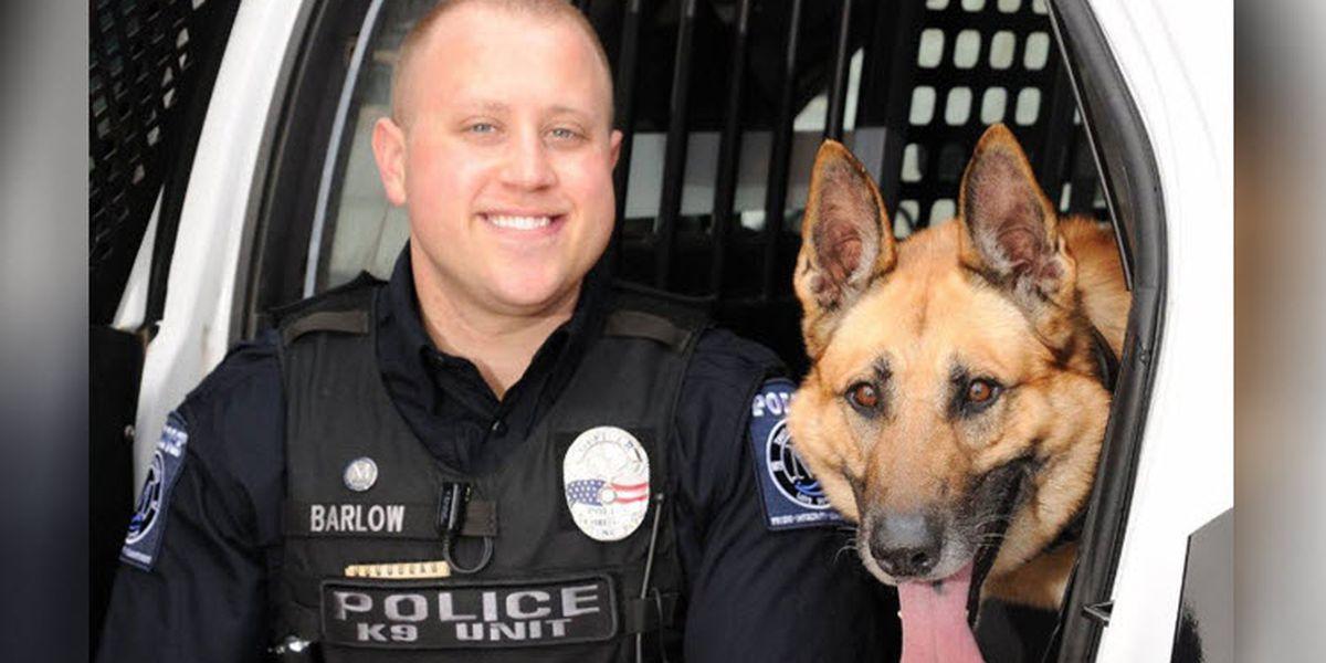 Recently-retired Mooresville K-9 officer Baks passes away