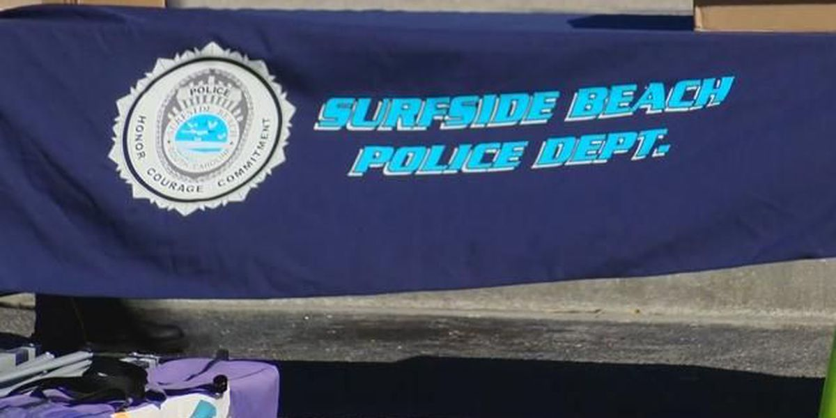 Surfside Beach police, community come together at National Night Out