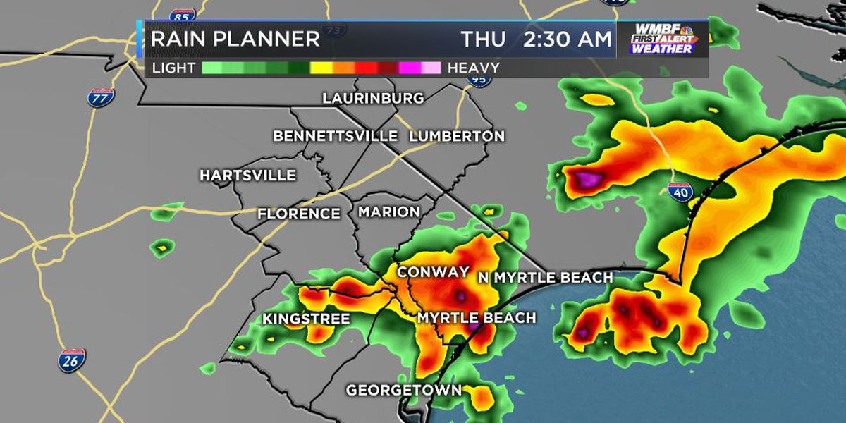 FIRST ALERT: Storms give way to lower humidity