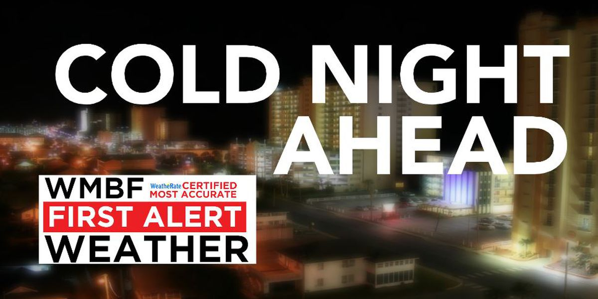FIRST ALERT: Cold night ahead, mild and wetter by Friday