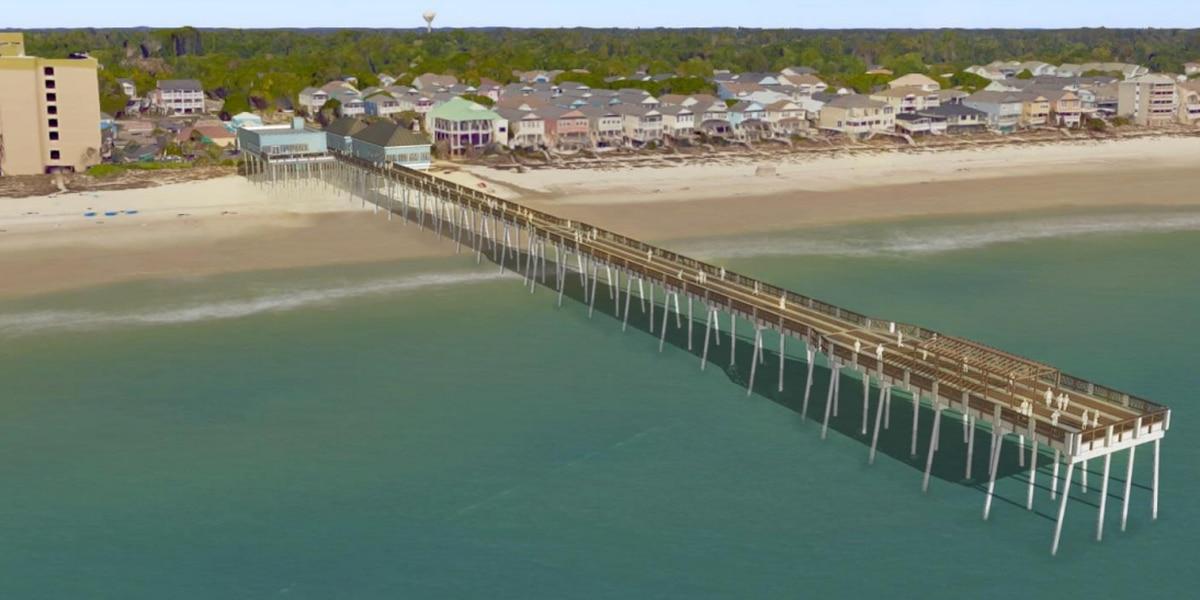 Surfside Beach leaders choose design option for new pier