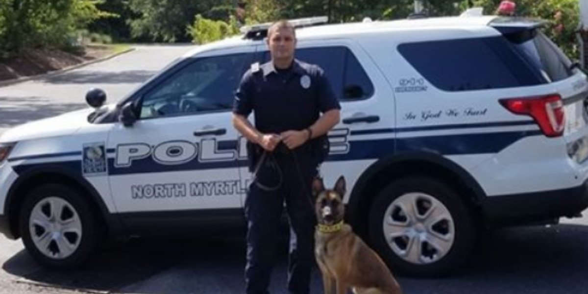 North Myrtle Beach reveals name of new K9 officer