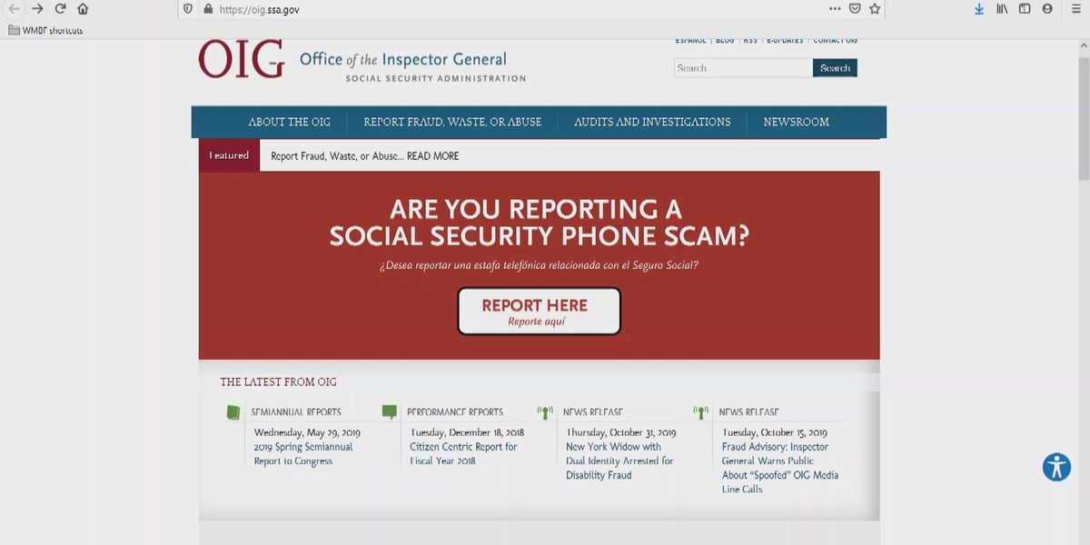 Social Security Administration creates online reporting system to report scam calls