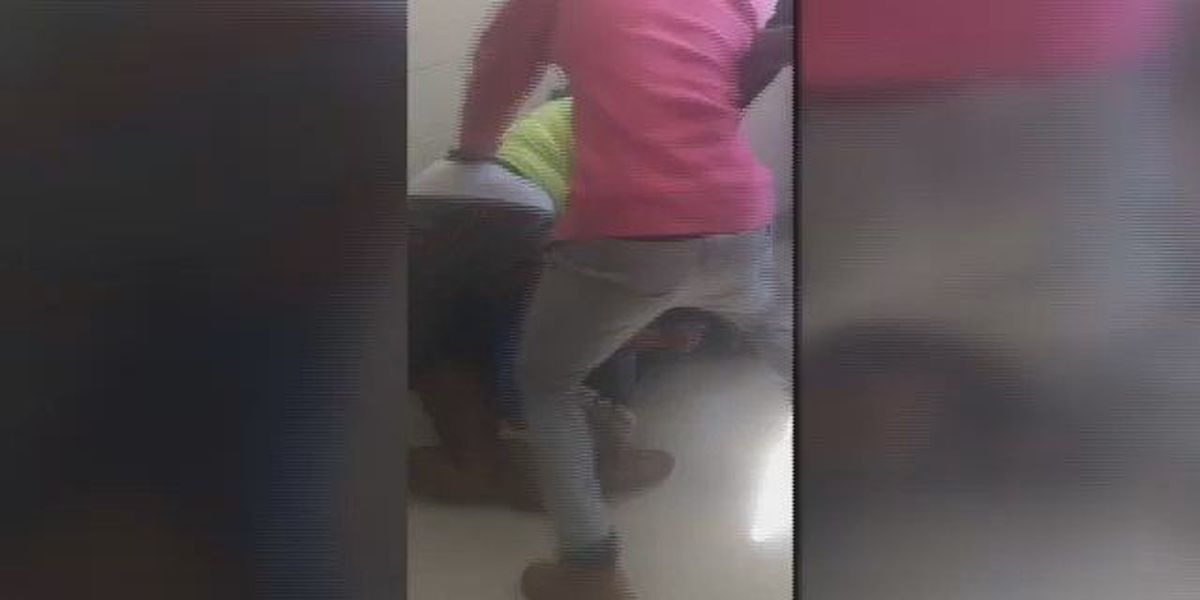 RAW VIDEO: Parent arrested, students charged following fight at Mullins High School