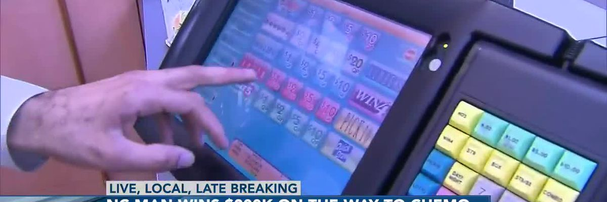 N.C. man wins $200K lottery prize on his way to last round of chemotherapy
